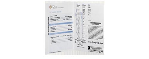Diamond GIA Report