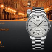 Mido – white Baronelli watch