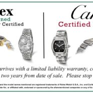 Rolex & Cartier Certified Pre-Owned