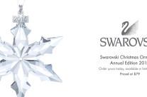 REVISED 2015 Swarovski Christmas Ornament