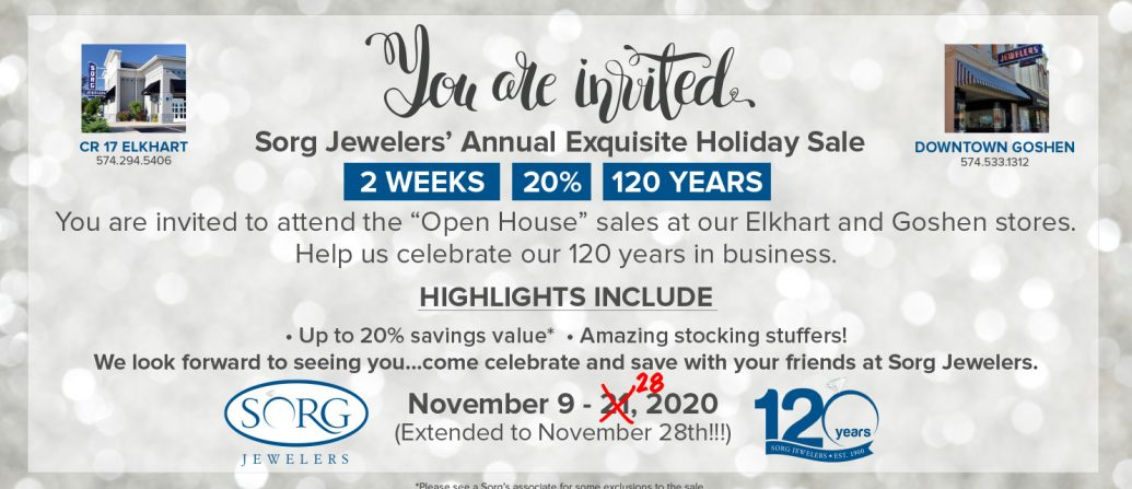 Annual Exquisite Holiday Sales